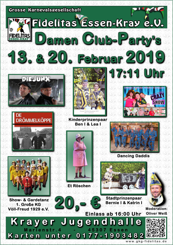 2. Damenclubparty